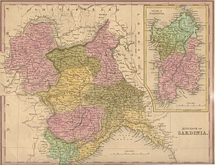 Le royaume de Sardaigne